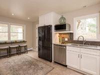 kitchen fridge and sink